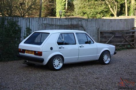 volkswagen golf mk1 modified 1982 volkswagen mk1 golf with 1 8t 20v conversion highly
