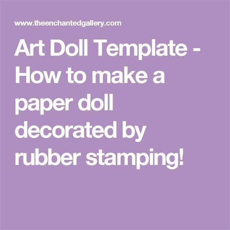 How To Make A Paper Doll - 1000 ideas about paper doll template on