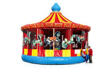 bounce house rentals nj carousel bouncer 187 circus time amusements