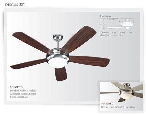 Build A Ceiling Fan by Monte Carlo Discus Ceiling Fan Build