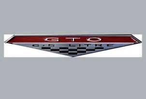 Pontiac Gto Emblems 1966 1967 Gto Badge Emblem Classic Cars