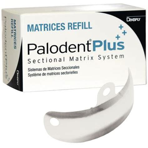 sectional matrix system palodent plus sectional matrix system refill 5 5m
