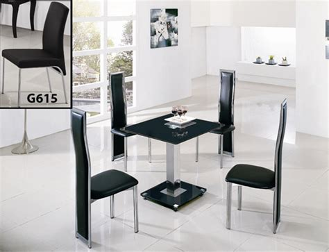 Glass Square Dining Table For 4 Jet Square Glass Dining Table Dining Table And Chairs Dining Tables