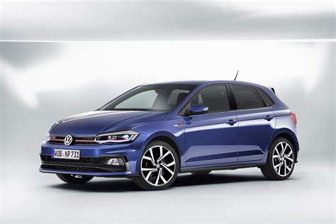 volkswagen gti blue 2018 volkswagen polo gti priced at eur 23 950 autoevolution