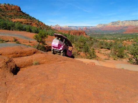 Pink Jeep Broken Arrow Tour Broken Arrow Trail Sedona Az Address Tickets Tours