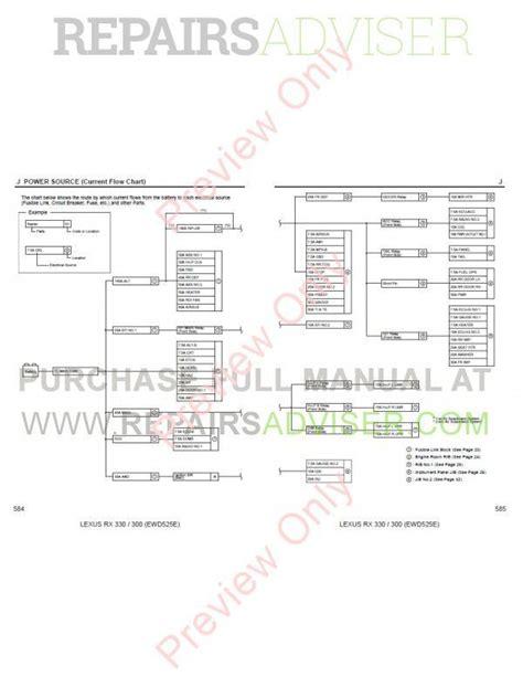 how to download repair manuals 2003 lexus rx regenerative braking lexus rx350 rx330 rx300 pdf manual download