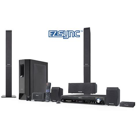 Home Theater Panasonic panasonic sc pt950 home theater system sc pt950 b h photo