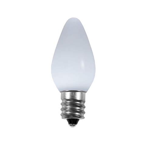 ceramic white c7 led christmas light bulbs display sales