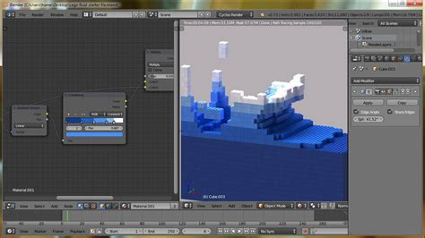 tutorial lego blender blender tutorial lego fluid effect youtube
