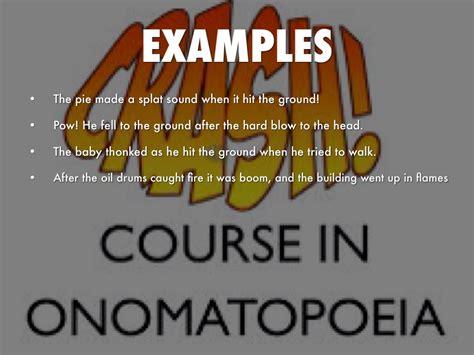 exle of onomatopoeia la onomatopoeia by travis thompson