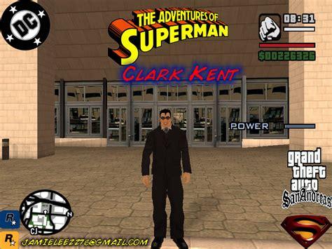 gta san and reas super man codes clark kent image superman gta sa mod for grand theft