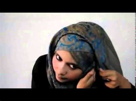 tutorial jilbab pesta silang full download cara memakai jilbab pashmina silang cross