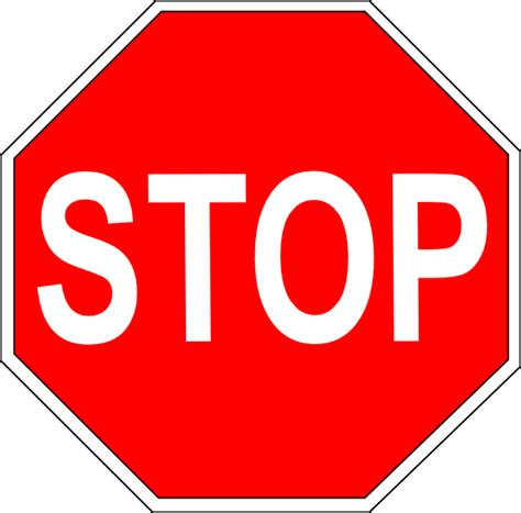 large printable road signs stop sign clip art at clker com vector clip art online