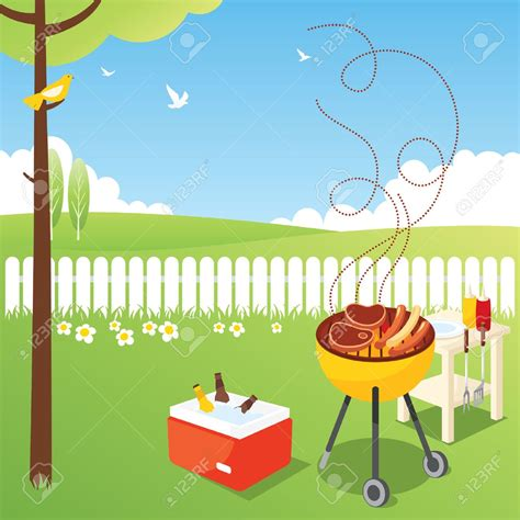 backyard clipart images backyard bbq party clipart gogo papa