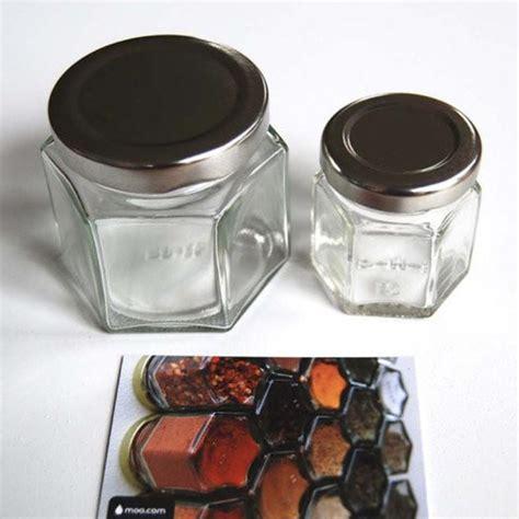 Empty Spice Jar Set Diy Small Magnetic Spice Jar Set Apollobox