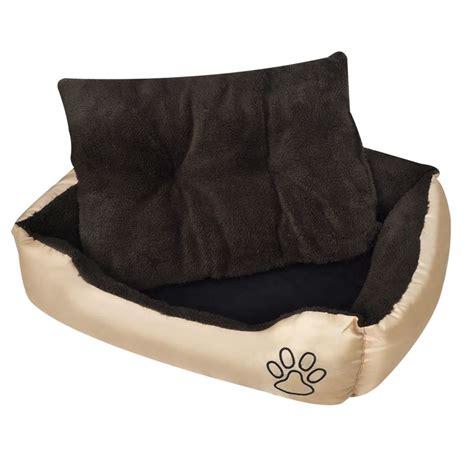 xxxl bed vidaxl bed beige and brown xxxl vidaxl co uk