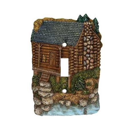 mountain switch plate covers cabin place