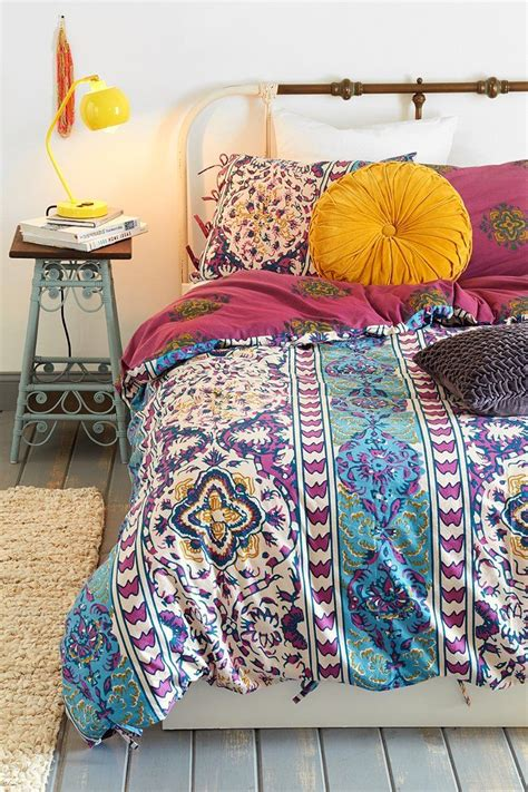 urban outfitters comforter covers magical thinking boho stripe duvet cover home pinterest