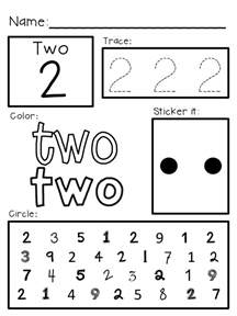 super simple shapes worksheets prek k special ed rti