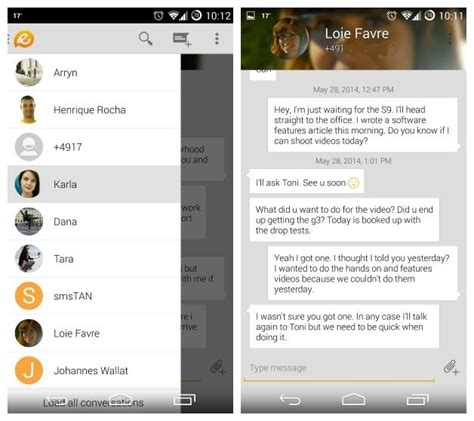 text themes for androids top 13 des meilleures applications sms pour appareils android dr fone