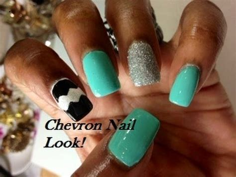 easy nail art chevron nail art easy chevron nails dearnatural62 how to save