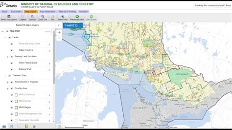 Find In Ontario How To Find Crown Land And Permitted Activities In Ontario