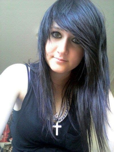 emo hair emo hairstyles emo haircuts long layered 1000 images about hairstyles on pinterest cut