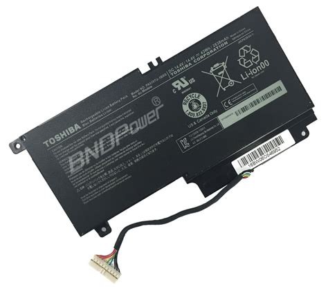 Baterai Batteray Toshiba L40 A L55 L55t Pa5107 Original toshiba laptop battery model no pa5107 laptop battery produced by bndpower
