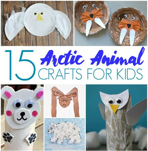 Toilet Paper Roll Kids Crafts - 15 arctic animal crafts for kids crafts on sea