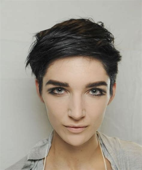 feathered pixie cuts short hairstyles bowl cut or feathered pixie