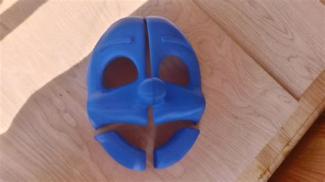 How To Make A 3d Mask Out Of Paper - ennard mask 3d printed complete by bantranic on deviantart