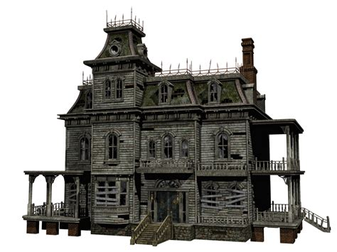 sketchup layout transparent haunted house 03 png stock by roy3d on deviantart