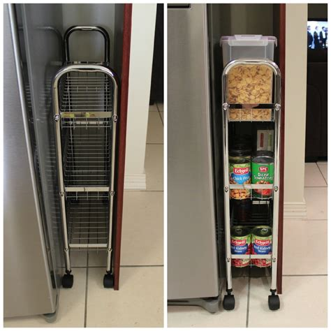 top of fridge storage 20 great ideas for creating more space in a small kitchen