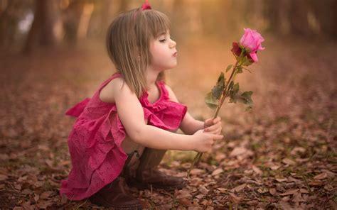 wallpaper flower with girl girl flower rose baby fall girl flower rose baby autumn