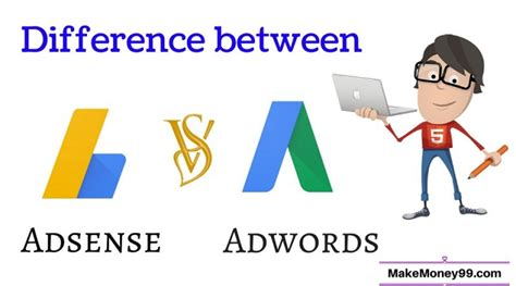 adsense vs adwords revenue adsense vs adwords what is the main difference