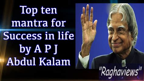 biography in hindi of apj abdul kalam top 10 mantra for success in life by apj abdul kalam in
