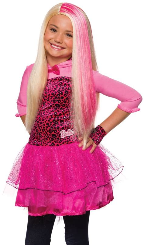 barbie wig child size screamers costumes