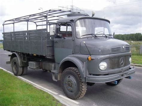 mercedes la 911 4x4 ex army special unit truck from
