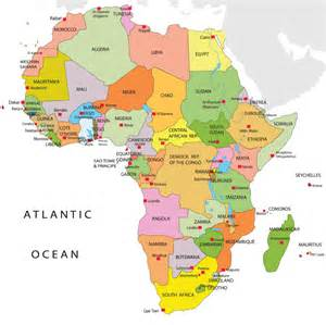 Map Africa by 20 Common Misconceived Africa Facts Answers Africa