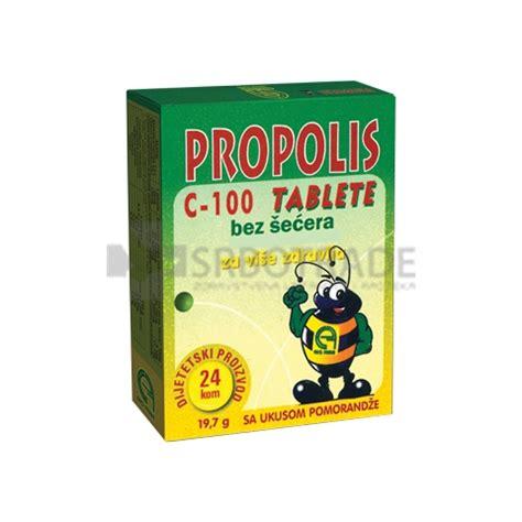 Jelly For Pro 98 propolis c 100 tablete bez 蝪e艸era