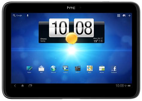 Tablet Htc 10 Inch htc jetstream con android y pantalla de 10 1