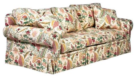 sold out designer yellow floral sofa 3 850 est retail
