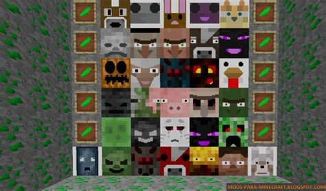 cara mod game jar minecraft mob blocks mod para minecraft 1 7 10