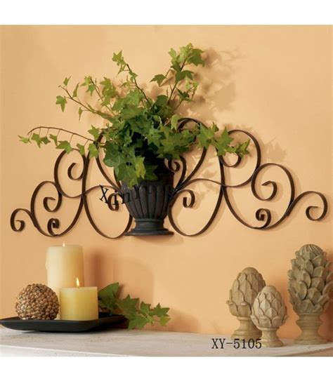 home decor metal wall home decor metal wall decor iron plant holder in other home products from home garden on