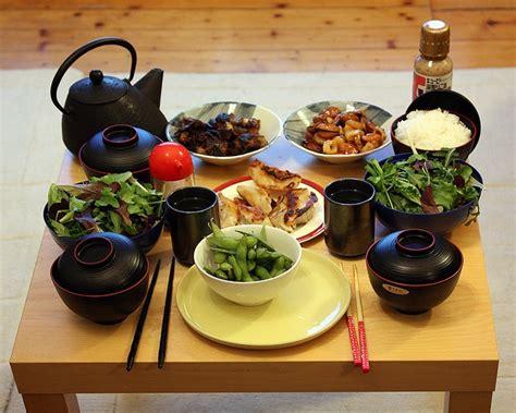 asian dinner japanese dinner food i