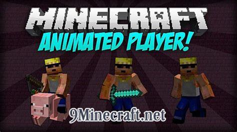 minecraft better player animations mod animated player mod 1 11 2 1 10 2 1 7 10 minecraft 1 12 2