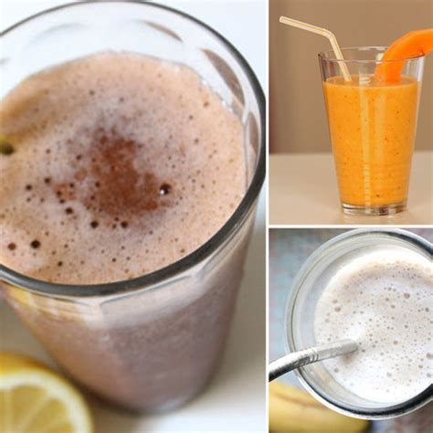 Detox Smoothie Recipes by Smoothie Recipes For Workouts And Detox Popsugar Fitness