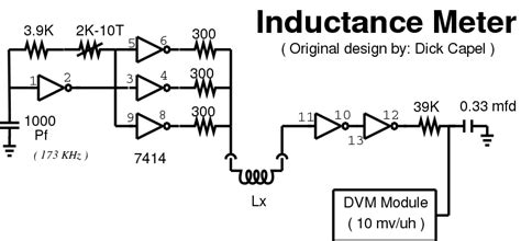 how to make simple inductance meter hints and tips