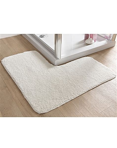 L Shaped Shower Mat l shaped bathroom mat oxendales