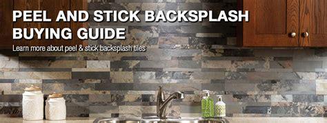 Adhesive Backsplash Tiles For Kitchen by Peel N Stick Backsplash